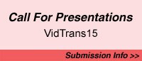 Call for Presentations for VidTrans15