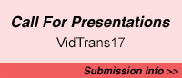 Call for Presentations for VidTrans17