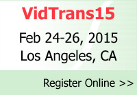 Register now to attend VidTrans15 - Annual Technical Conference and Exposition